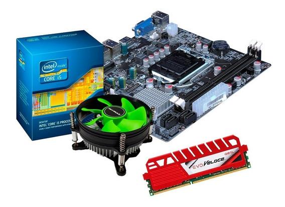 Kit Processador I5 3470 + Placa H61 + 4gb Geil Gamer + Nfe