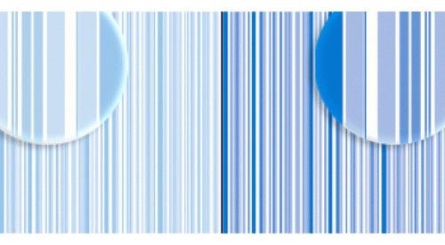 Imagem 1 de 2 de Repeteco - Duo Básico Listras Azul/azul Royal - Lavanda