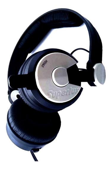 Fone Dj Superlux Hd562 Headphone Profissional Retorno Som
