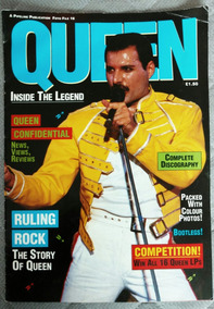 Revista Queen Inside The Legend