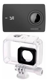 Action Cam Xiaomi Yi 4k Discovery + Brinde Caixa Estanque.
