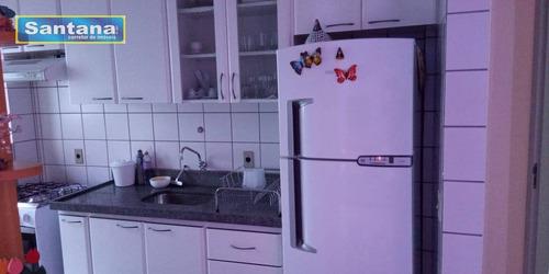 Apartamento Com 2 Dormitórios À Venda, 59 M² Por R$ 190.000,00 - Do Turista - Caldas Novas/go - Ap0473