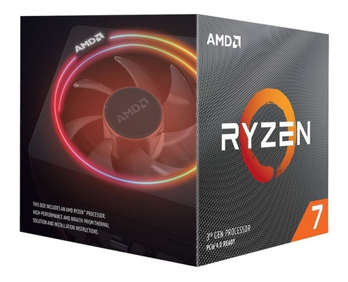 Micro Procesador Amd Ryzen 7 3700x 8 Nucleos 4.4 Ghz Am4 !!