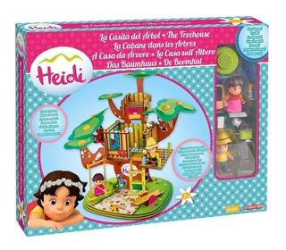 Oferta Heidi Super Set La Casita Del Arbol Con Sonido + Envi