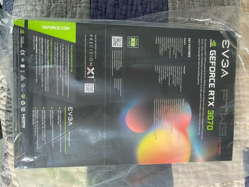 Evga Geforce Rtx 3070 Ftw3 Ultra 8gb Gddr6 Graphics Card