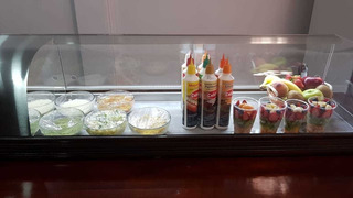 Heladera Mostrador Sushi Topinera