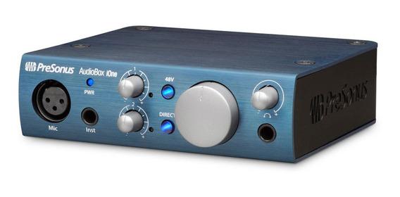Interface De Áudio Presonus - Audiobox Ione