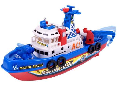 Los Niños Eléctrico Del Barco De Fuego De Juguete De La Músi