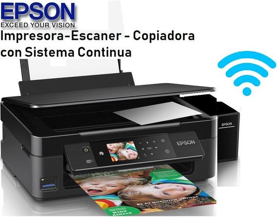 Impresora Epson Xp 440 Wifi Mejor Que L380 L3110 L3150 L4150