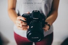 Câmera 60d Canon + Lente 18-135mm + Acessórios