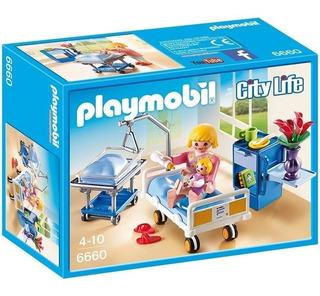 Todobloques Playmobil 6660 Sala De Maternidad