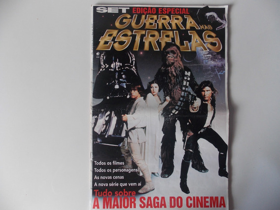 Revista Guerra Nas Estrelas De 1997 - Star Wars Editora Azul