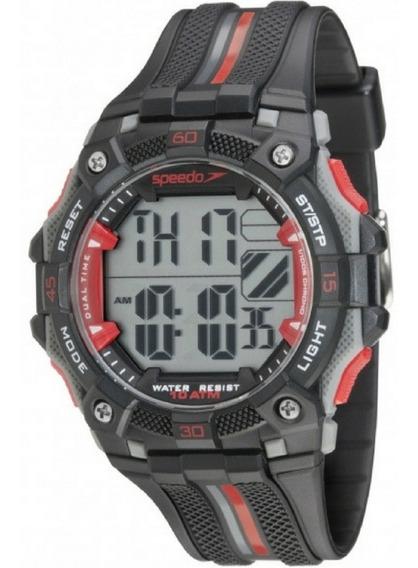 Relógio Masculino Speedo Digital 80629g0evnp3 Garantia C/ Nf