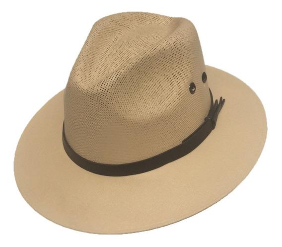 Sombrero Panameño Hilo Pintado Yucatán
