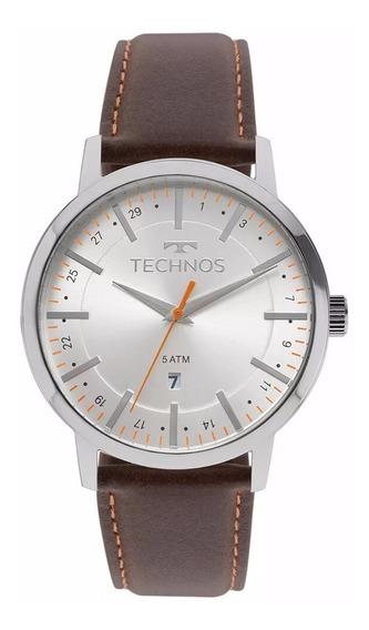 Relógio Technos Steel Masculino 2115mmh/1b Original C/ Nf