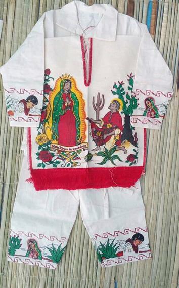 Traje Juan Diego, Indito, 12 De Diciembre Niño