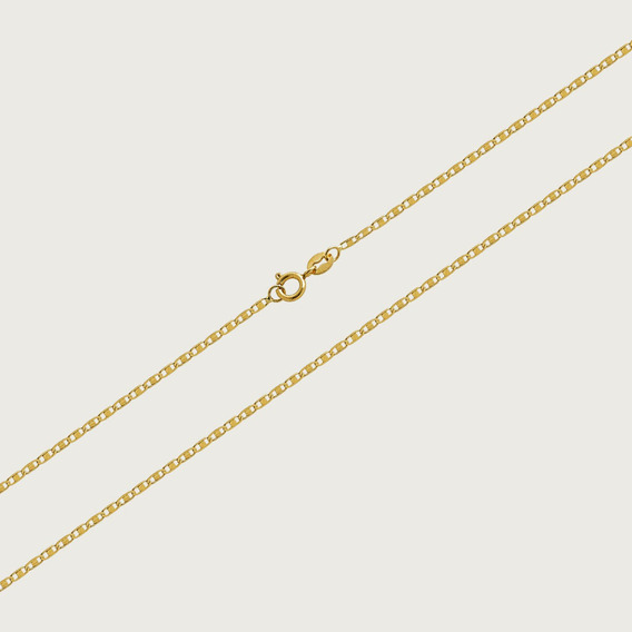 Cordão Em Ouro 18k Com 45cm - 1,5gr