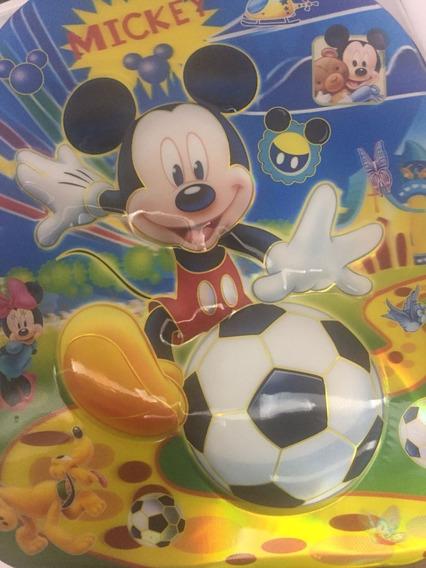Mochila Infantil Escolar Meninos Meninas Relevo 3d Mickey