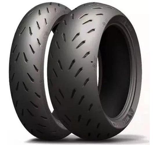 Par Pneu Fazer 600 Michelin Power Rs 180/55-17+120/70-17