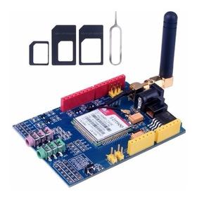 Gsm Gprs Shield Sim900 Modulo Antena Quad Band Arduino