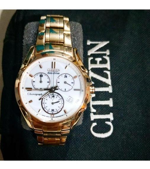Relógio Feminino Citizen Ouro - Gn4ws-9