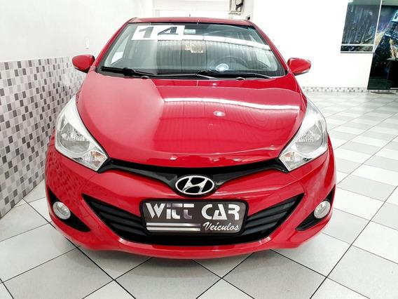 Hyundai Hb20 Premium 1.6 Flex 2014 Vermelho Automático