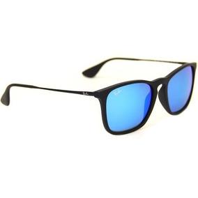 e34f9fa5b Oculos Ray Ban Chris Azul - Óculos no Mercado Livre Brasil