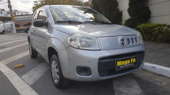 Fiat Uno Vivace 1.0 8v Flex 2p 2013 Prata