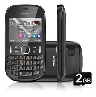 Nokia Asha 201 Somente Vivo 2mpx Redes Sociais Na Caixa Orig