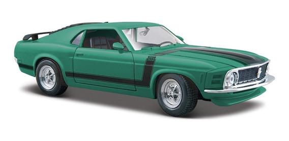 Ford Mustang Boss 302 1970 Verde 1 24 Maisto Original