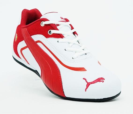 Tênis Masculino Ferrari Caminhada Academia Leve Promoção