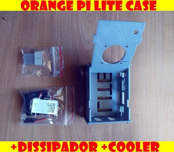 Dissipador + Cooler + Case Orangepi Lite