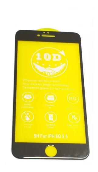 Mica Cristal Templado 10d Samsung Huawei Motor iPhone Xiaomi