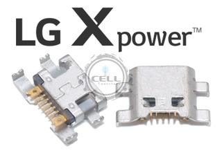 Kit 10 Conector De Carga Lg X Power K220 Original