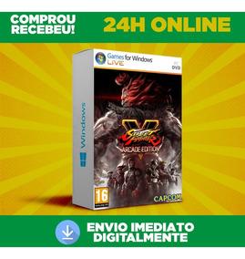 Street Fighter V - Pc Português Todas Dlc Envio 0s