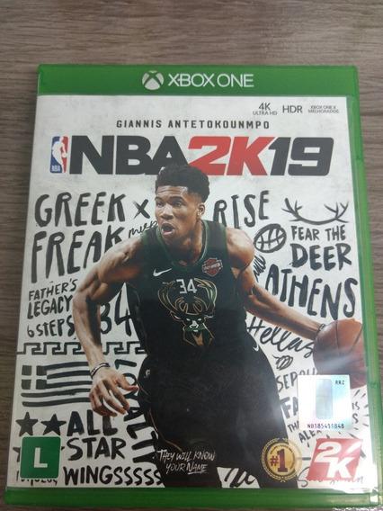 Jogo Nba 2k19 Xbox One