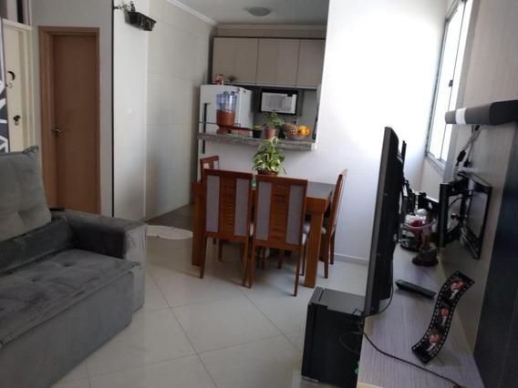 Apartamento Em Vila Nova Aparecida, Mogi Das Cruzes/sp De 50m² 2 Quartos À Venda Por R$ 169.900,00 - Ap387742
