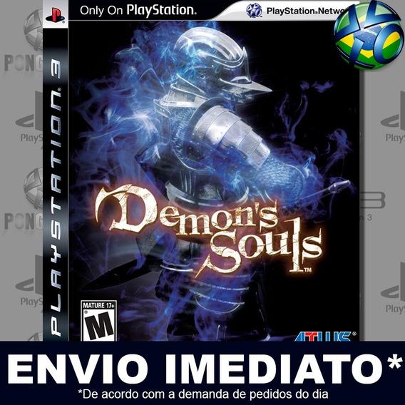 Demons Souls Ps3 Psn Jogo Em Promoção Pronta Entrega Play 3