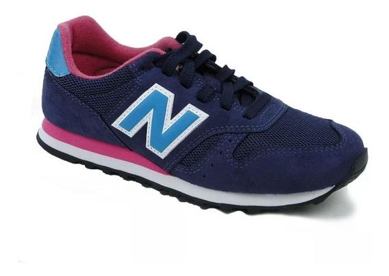 New Balance 373 Azul - Variedad De Colores Moda Mujer!! @