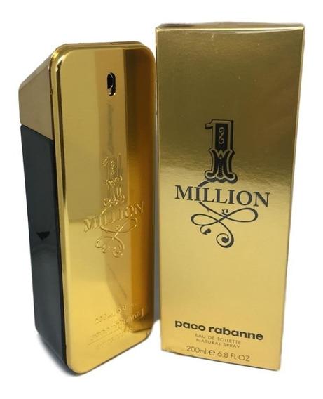 Perfume One Million Edt. 200ml -original +2 Amostras E Nf