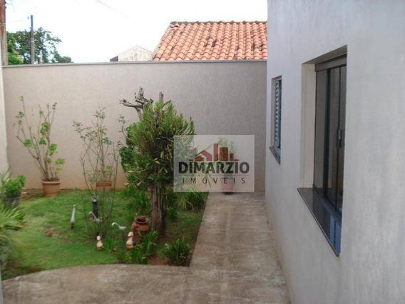 Casa Residencial À Venda, São Manoel, Americana. - Ca1086