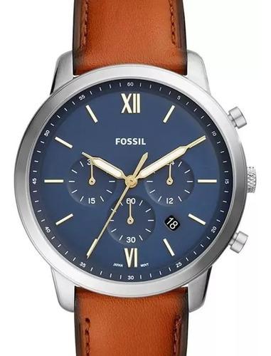 Relógio Fossil Masculino Couro Fs5453
