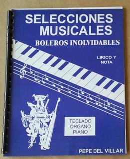 Método Teclado-organo-piano, Selecciones I Boleros