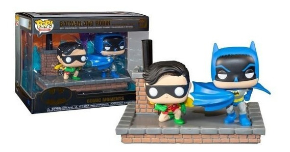 Funko Pop Batman 80th - 1964 Batman And Robin