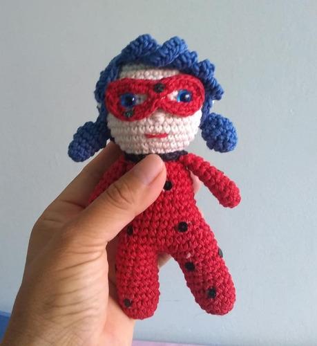 Miraculous Crochet Amigurumi of Ladybug and Cat Noir – So Good ...   500x459