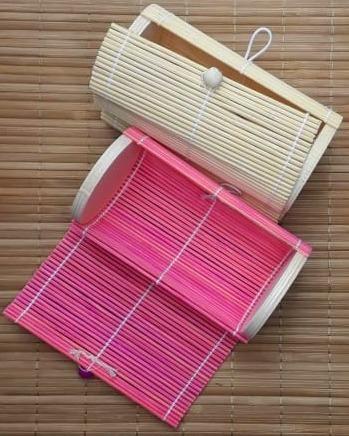 Alhajero De Bambú Cilíndrico - Estuche Para Recuerdos
