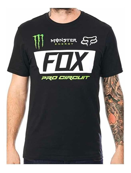 Playera Fox Monster Paddock Original Algodón