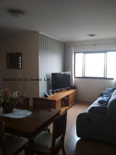 Apartamento Para Venda Em São Paulo, Jardim Pinheiros, 3 Dormitórios, 1 Suíte, 2 Banheiros, 1 Vaga - 8622_2-962213