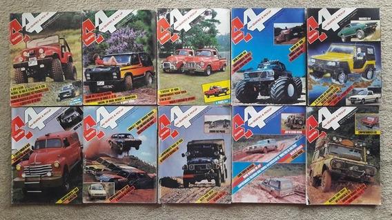 4x4 & Pick Up -coleção 22 Revistas No Valor De R$ 28,50 Cada