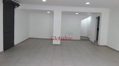 Loja Para Alugar, 120 M² Por R$ 6.000,00/mês - Vila Belmiro - Santos/sp - Lo0002